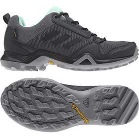adidas TERREX AX3 GTX Zapatillas Mujer, grey five/core black/clemin